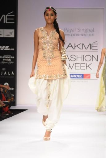 PS-FW163 Blush Banarsi Kurta with Silk Jodhpuri Pant