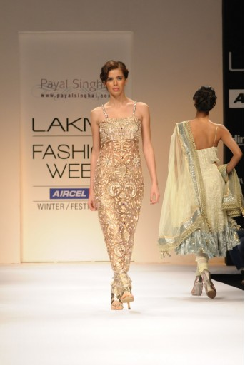 PS-FW120 Blush Zardosi Kurta with Brocade Pants