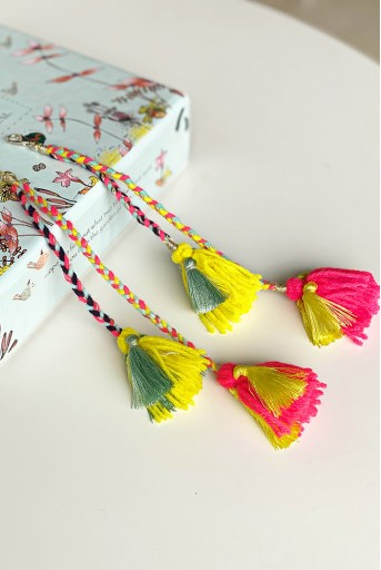 JPPS19  Joey & Pooh X Payal Singhal Add On Tassels for Headbands