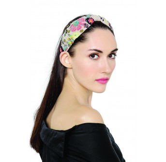 JPPS01 Aria Tulip Stone Handcrafted headband from PayalSinghal and Joey and Pooh collab collection
