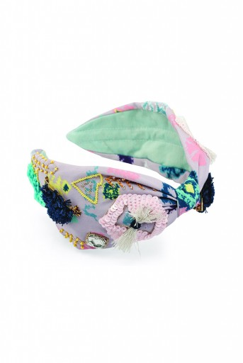 JPPS12 Cleo Handcrafted headband from PayalSinghal and Joey and Pooh collab collection.