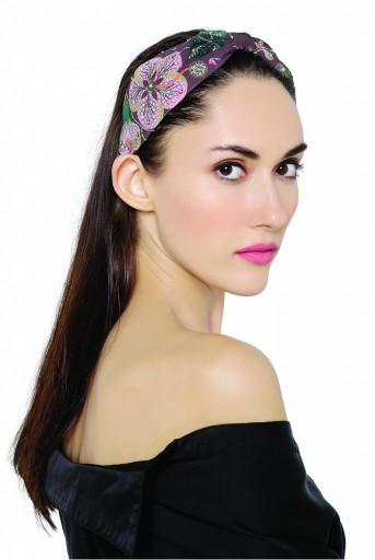 JPPS15 Joey & Pooh X Payal Singhal Eden Brown Headband