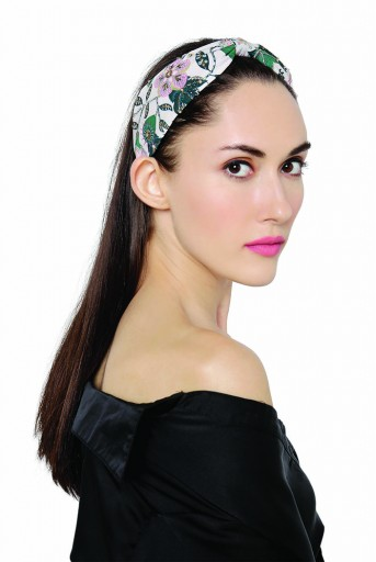 JPPS14 Eden Pink  Handcrafted headband from PayalSinghal and Joey and Pooh collab collection.