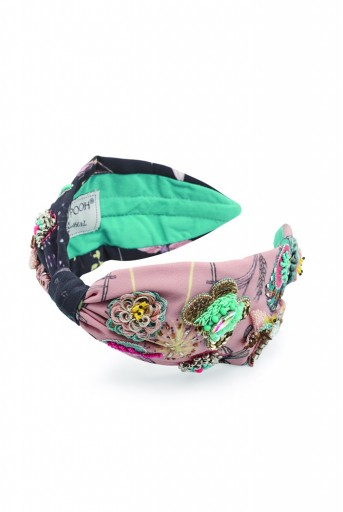 JPPS16 Juniper Headband Handcrafted headband from PayalSinghal and Joey and Pooh collab collection.