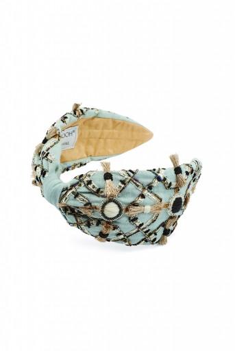 JPPS05 Joey & Pooh X Payal Singhal Zara Pale Blue Headband