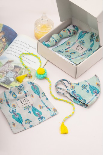 PS-GB006  PS Kids by Payal Singhal Classic Rakhi Gift Hamper for Boys (Set of 4)