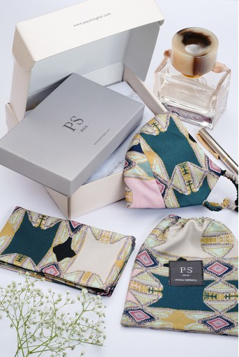 PS-GB0012  PS Men by Payal Singhal Classic Gift Hamper for Men (Set of 4)