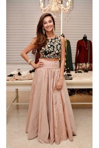 PS-CB101 Shibani Crop Top and Skirt